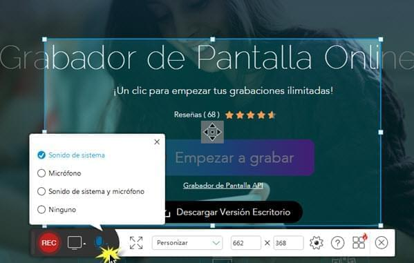 captura de pantalla windows 8