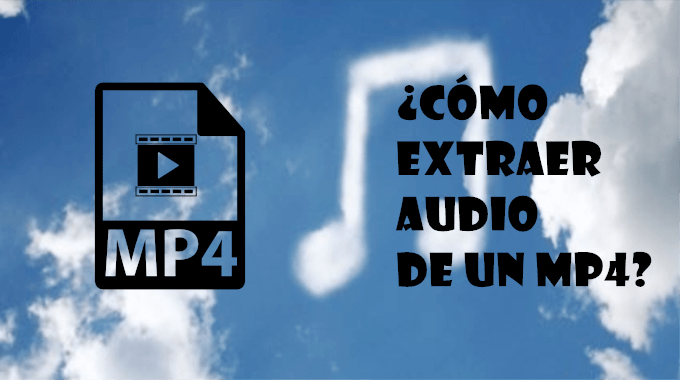 extaer audio de mp4