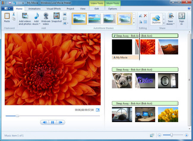 windows movie maker para cortar video